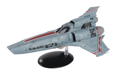 Battlestar Galactica Blood and Chrome Viper Die-Cast Vehicle