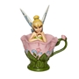 Disney Traditions Jim Shore Tinkerbell Sitting in Flower Figure