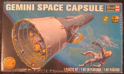 NASA 1:24 scale Gemini Space Capsule