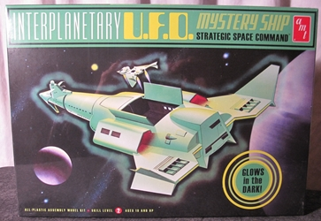 Glow-in-the-Dark Interplanetary U.F.O. Mystery Ship Plastic Model Kit