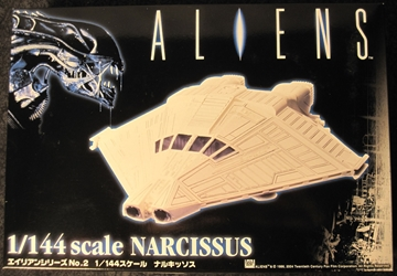 Aliens 1:144 scale Narcissus Escape Pod Plastic Model Kit
