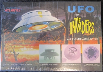 The Invaders 1:72 scale UFO plastic model kit