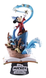 Disney Fantasia Mickey Mouse Sorcerers Apprentice D-Stage Statue