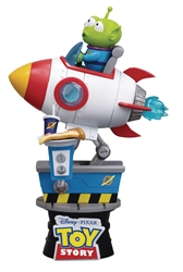 Disney Toy Story Alien Rocket Coin Ride D-Stage Statue