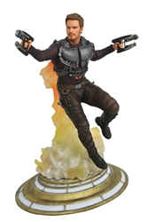 Guardians of the Galaxy Star Lord Unmasked Gallery Statue
