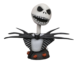 Nightmare Before Christmas 1:2 scale Legends Jack Skellington Bust Statue