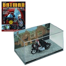 Batman Classic 1966 Batcycle w/ #77 Magazine