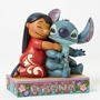 "Disney Traditions Lilo and Stitch ""Ohana Means Family"" Statue"