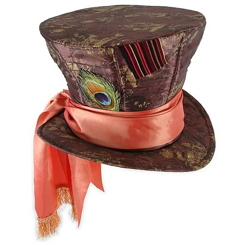 Alice in Wonderland Mad Hatter Top Hat