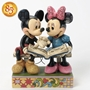 Disney Traditions Mickey and Minnie 85th Anniversary Statue