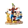 "Disney Traditions Mickey Fab Five ""The Gang is All Here"" Figure"