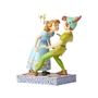 Disney Traditions Peter Pan & Wendy 65th Anniversary Unexpected Kiss Figure