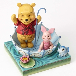 Disney Traditions Jim Shore Winnie the Pooh and Piglet Friendship Figure