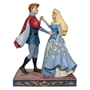 "Disney Traditions Sleeping Beauty Aurora and Prince Philip ""Swept Up in the Moment"" Figure"