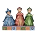 "Disney Traditions Sleeping Beauty Three Fairies ""Royal Guests"" Figure - ENS-4059734"