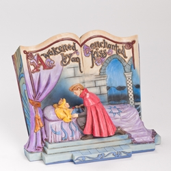 Disney Traditions Jim Shore Sleeping Beauty Storybook Figure