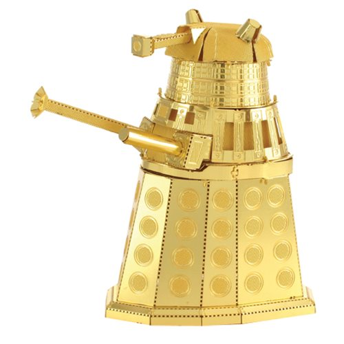 Doctor Who Gold Dalek Metal Earth Kit