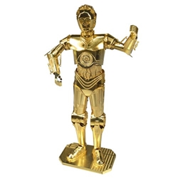 Star Wars Gold C-3PO Metal Earth Kit