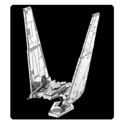 Star Wars VII Kylo Rens Command Shuttle Metal Earth Kit