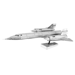 U.S. Air Force SR-71 Blackbird Jet Metal Earth Kit