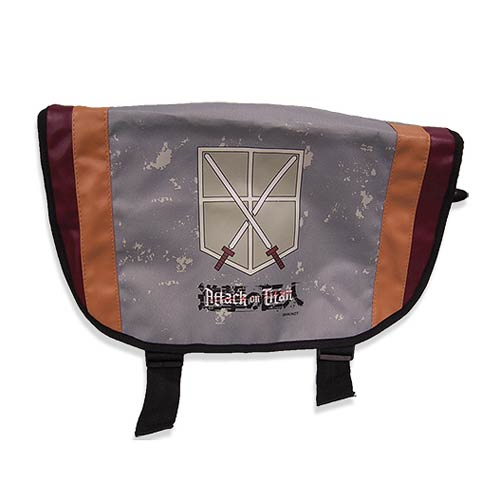 Attack on Titan Trainie Squad Gray Messanger Bag
