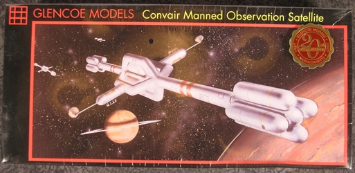 NASA 1:200 scale Convair Manned Observation Satellite Plastic Model Kit