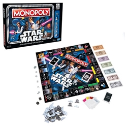 Star Wars Monopoly 40th Anniversary Edition Game