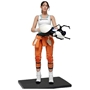 Portal Limited Edition Chell Vinyl Figure with Portal Gun