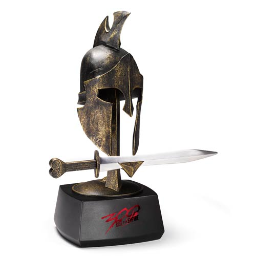 300: Rise of an Empire Infantry Helmet and Sword Prop Replica