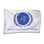 Star Trek 1:1 scale White Federation of Planets Flag replica