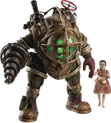 Bioshock Big Daddy and Little Sister 1:6 Scale Light-up Vinyl Figure