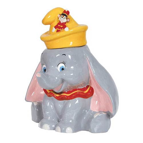 Disney Dumbo with Timothy Mouse Ceramic Cookie Jar